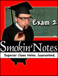 MCB3020 Exam 2 Smokin'Notes