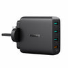 PA-T18 4 Port USB Qualcomm Quick Charge 3.0 Travel Charger - UK Plug