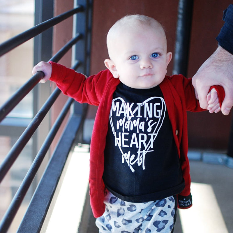 Making Mama's Heart Melt - Kids Tee