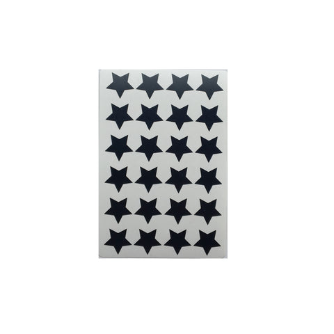Black Star Stickers (72)