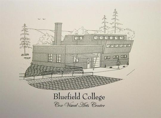 Bluefield College - Note Cards - Cox Visual Art Center