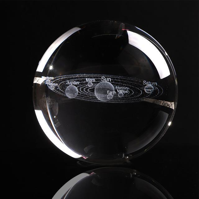 Inspire Uplift 6 CM / just ball Engraved Solar System Sphere