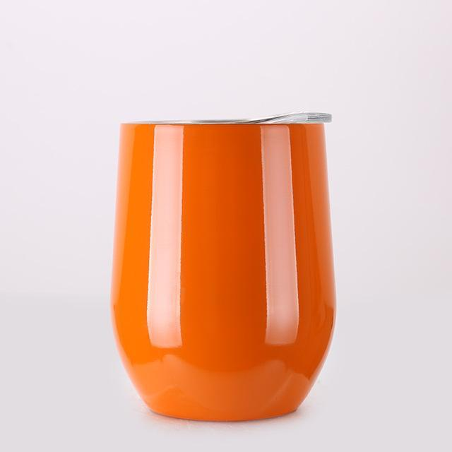 Inspire Uplift DrinkUp Portable Insulated Wine Cup Orange / 9oz DrinkUp Portable Insulated Wine Cup