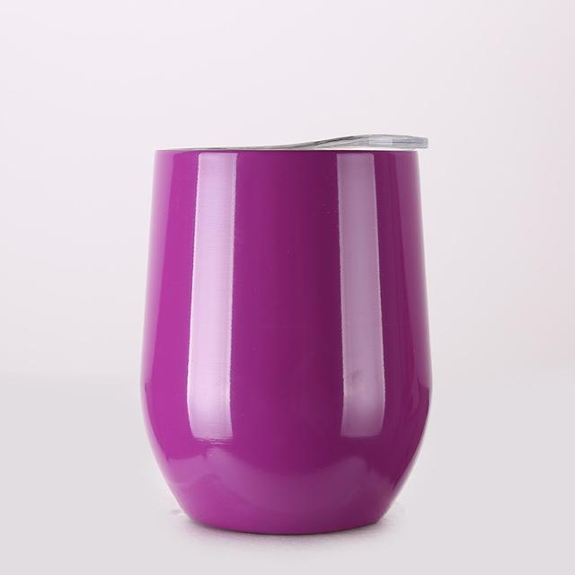 Inspire Uplift DrinkUp Portable Insulated Wine Cup Purple / 9oz DrinkUp Portable Insulated Wine Cup