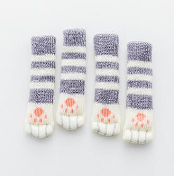 Inspire Uplift grey Kitty Paw Chair Socks