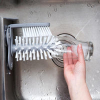 Inspire Uplift Sink Glass Cleaner Brush Sink Glass Cleaner Brush