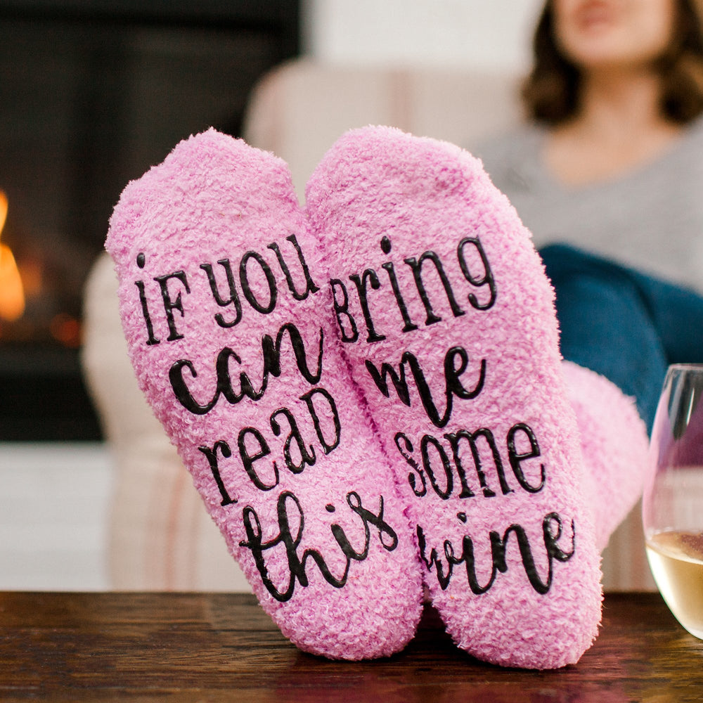 Inspire Uplift Wine Lover Custom Thermal Socks