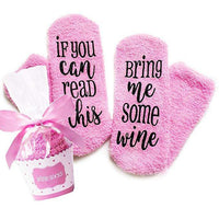 Inspire Uplift Wine Lover Custom Thermal Socks Wine Lover Custom Thermal Socks