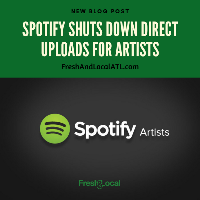 Spotify Shuts Down Direct Uploads for Artists