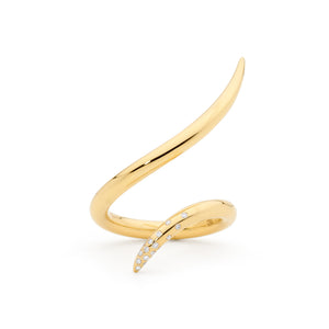 BRANCUSI 18CT GOLD & DIAMOND RING