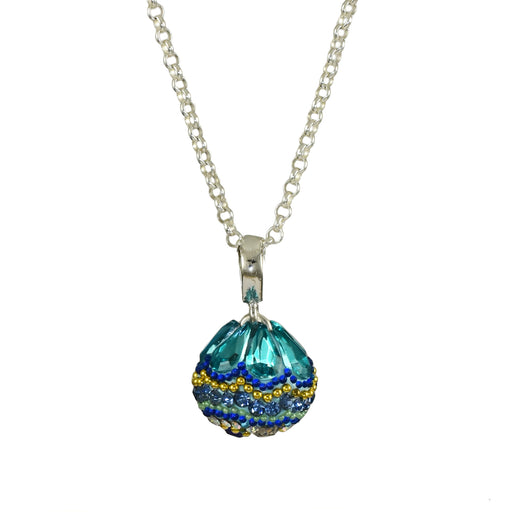 Allegra Aqua Mini Sphere Pendant