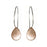 Droplet Hoop AG/CU Earrings