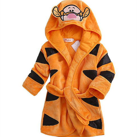 Orange Tigger Disney bathrobe nightgown - Just Kidding Store