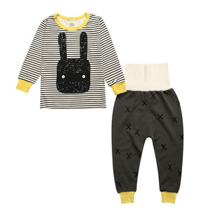 Bunny Sleepwear Set - Kids Pajamas - Just Kidding Store