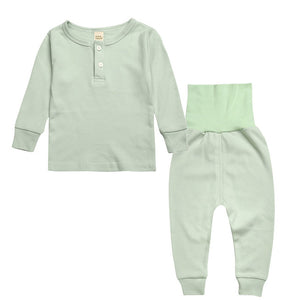 Sleepwear Set - Kids Pajamas - Mint - Just Kidding Store