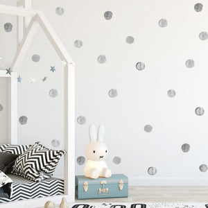 Watercolor Dot Wall Decal  Kids Wall Stickers - Just Kidding Store