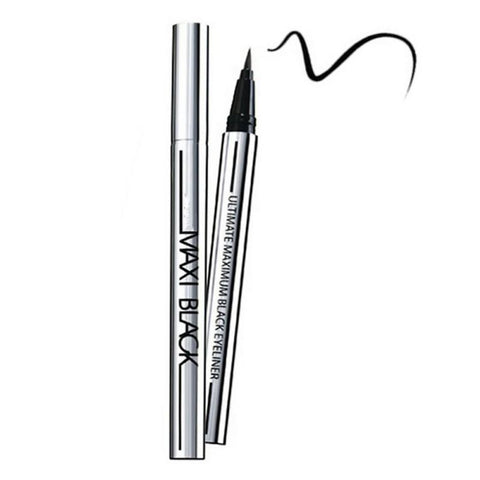 MAXI BLACK- Waterproof Liquid Eyeliner Pen