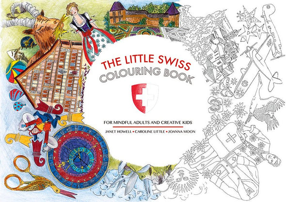 The Little Swiss Colouring Book