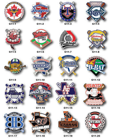 Baseball Gallery #11 - SteelBerry Pins
