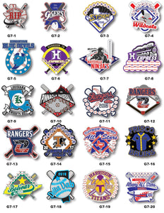 Baseball Gallery #7 - SteelBerry Pins