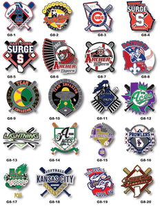 Baseball Gallery #8 - SteelBerry Pins