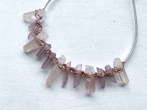 Amethyst Quartz Crown