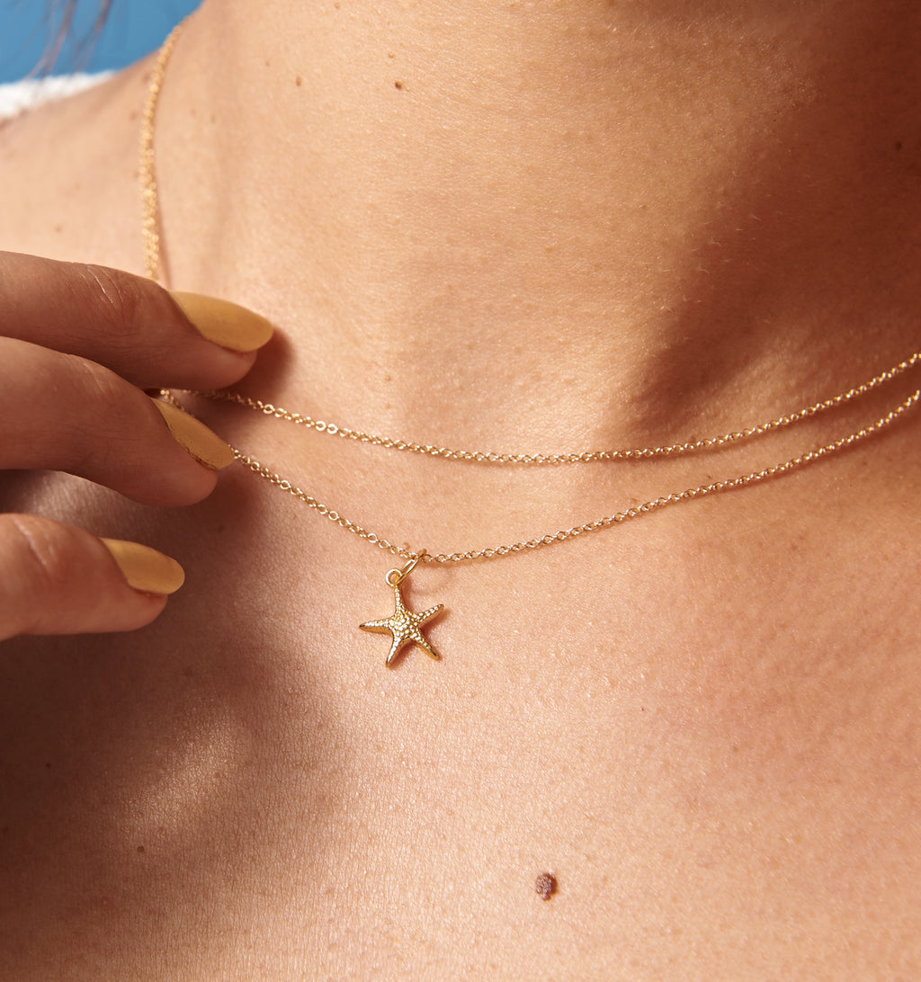 Starfish Wrap Necklace