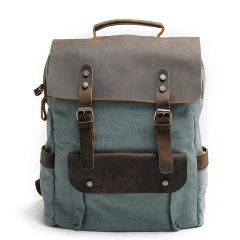 Travel Junkie Leather Bag