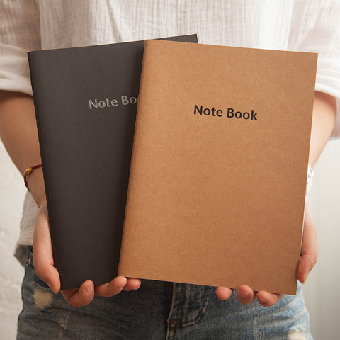 Kraft Paper Lined Notebook