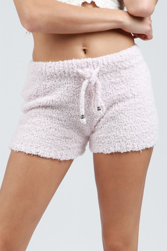 BERBER FLEECE COZY SHORTS