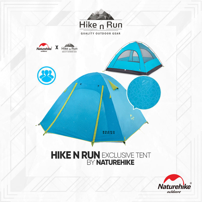 Tenda Naturehike 2018 3P-Series NH183P-BROMO