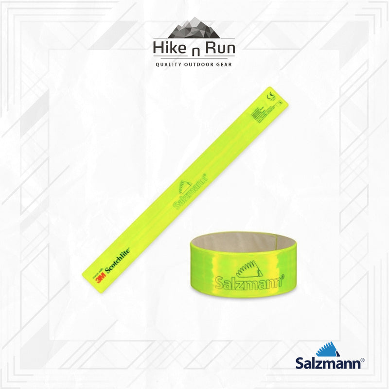 Salzmann 3M Reflective Running Sport Arm Leg Snap Band 4X41 43461-K