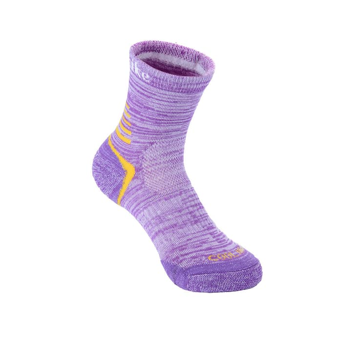 NH Women Outdoor Socks For 4 Seasons (Two Pairs) Purple NH20W016-W