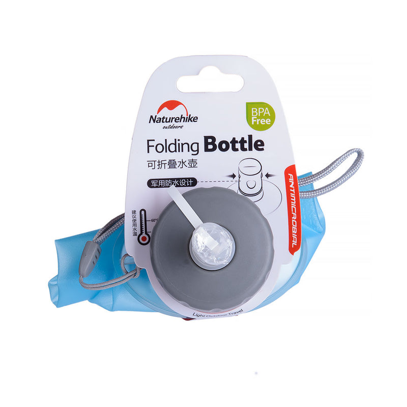 NH Bottle Folding TPU 500ml Blue NH61A065-B - Hike n Run