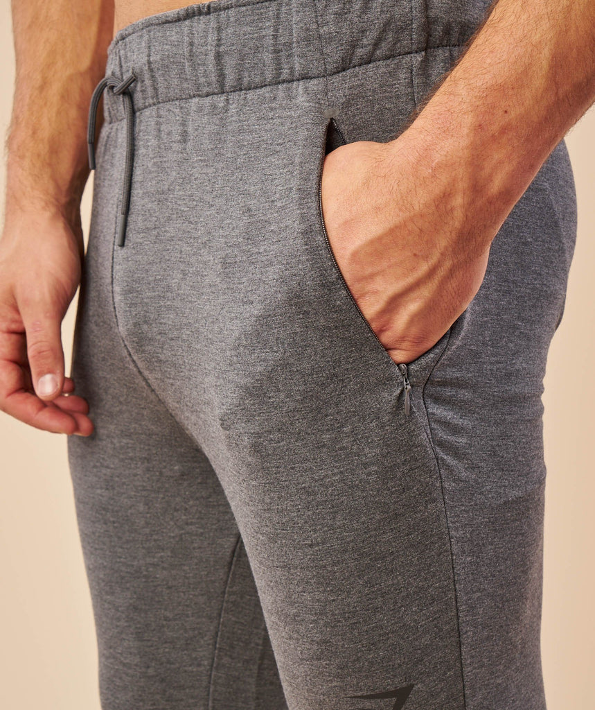 Gymshark Enlighten Bottoms - Charcoal Marl 5