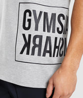 Gymshark Mirror T-Shirt - Light Grey Marl 12