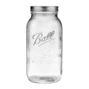 Mason Jar de 64 oz Boca Regular, Ball