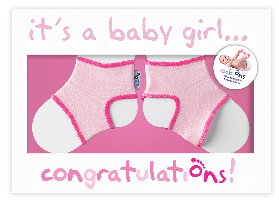 Congratulations girls card