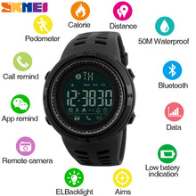 Carregar imagem no visualizador da galeria, Smart Watch Chrono Calories Pedometer Multi-Functions Sports