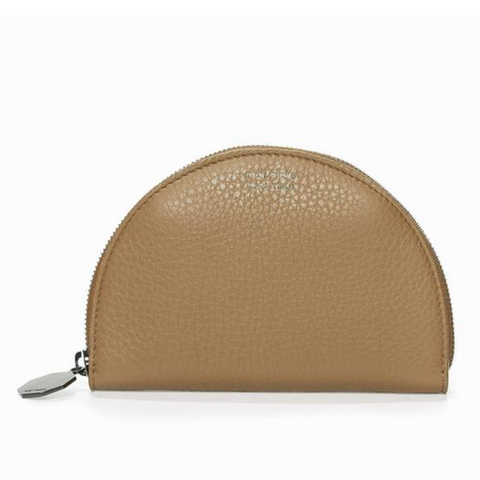 half moon wallet light tan - IndependentBoutique.com