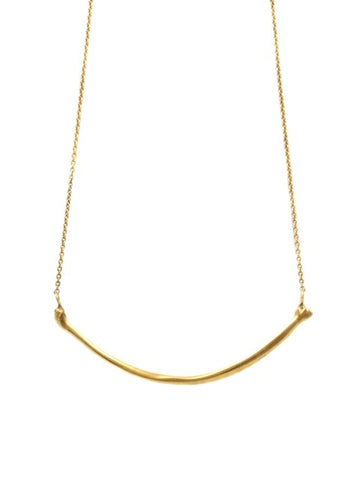 The Radius Necklace - Gold