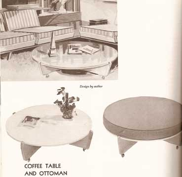 ANATOMY OF CONTEMPORARY FURNITURE WITH MEASURED DRAWINGS (1973)