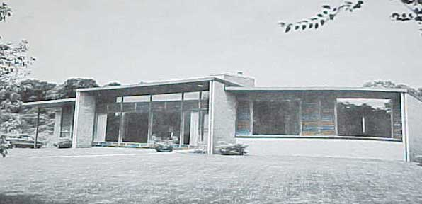 TREASURY OF CONTEMPORARY HOUSES ARCHITECTURAL RECORD (1954)
