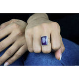 Amethyst Statement Ring - The Little Secret Boutique