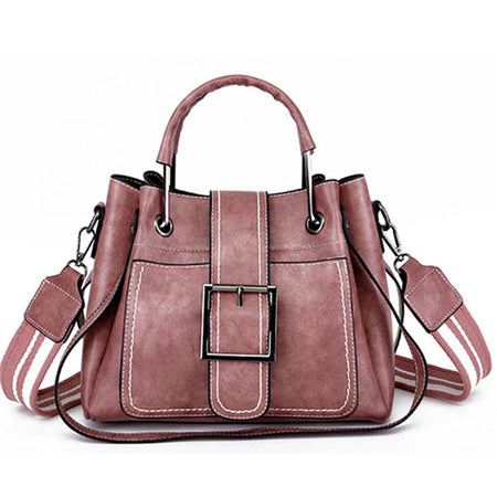Luxury Collection Hand Woven Large Capacity Vegan Leather Tote