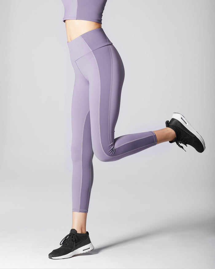 Vibe High Waisted Legging - Mauve