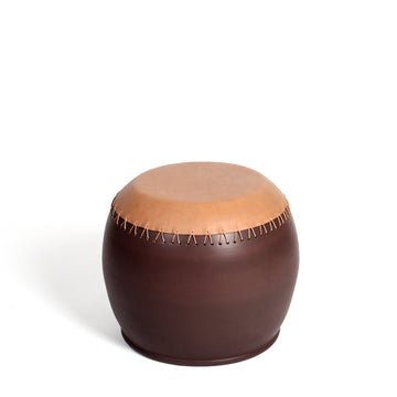 BOMBO 1 Pouf/Side Table by Nestor Perkal for Oscar Maschera - DUPLEX DESIGN
