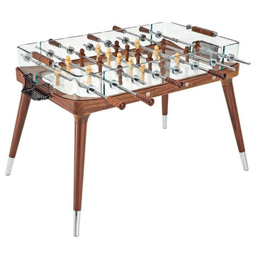 90° Minuto Foosball Table in Walnut by Teckell - DUPLEX DESIGN
