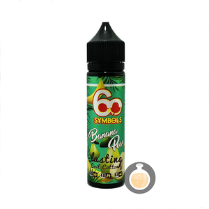(60 Symbols - Banana Pear Vape E-Juices & E-Liquids)