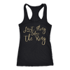 Last Fling Before The Ring Ladies Racerback Tank Top Women - 2 colors available - PLUS Size XS-2XL MADE IN THE USA